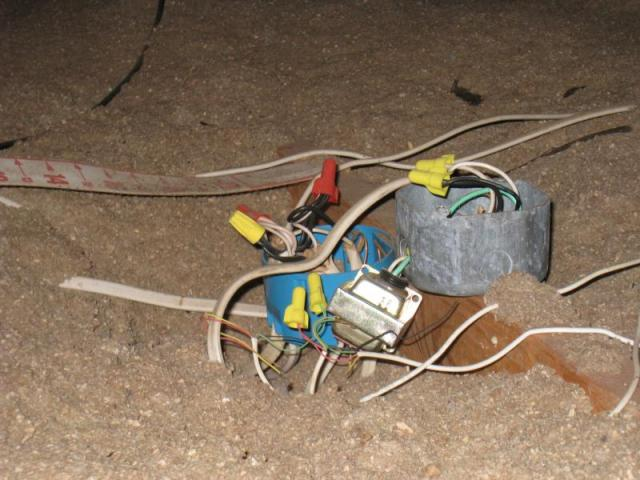More unsafe wiring.